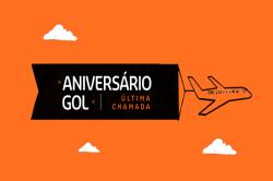 Gol fará promoção de mais de 800 mil assentos para comemorar aniversário
