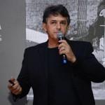 Alan Calassa, apresentou sua réplica do 14 Bis no evento