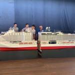A CVC inaugura a maior maquete de navio do Brasil na sua convenção de vendas 2019 em Porto de Galinhas