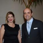 Ana Luiza Masagão Menezes, diretora Comercial & Marketing, e Antonio Dias, diretor Executivo do Royal Palm Plaza