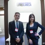 André Bortolucci e Suellen Galvão, do Centro de Convenções Freicaneca