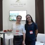 Anna Paula Cesário e Renata Costa, do Royal Palm