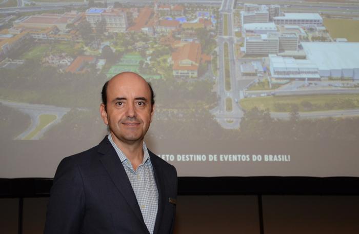 Antônio Dias, diretor executivo do Royal Palm