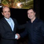 Antonio Dias, com Rafael Cecere, da R1