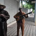 Arte e interaçãoo fazem parte do passeio cultural por Corumbá