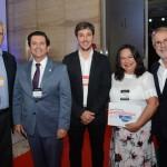 Caio Luis de Carvalho, diretor executivo do Canal Arte 1, Otávio Leite, secretário de Turismo do Rio de Jananeiro, Philipe Campello, do Rio CVB, Pepita Soler, e Otávio Neto, do Grupo Radar