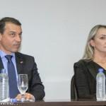 Carlos Moisés, a vice Daniela Reinehr