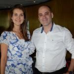 Clara Campos, da Minor Hotels, e Fernando Hagoppian, da Ethiopian Airlines