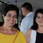 Claudia Petry, da Vip´s Turismo, e Luciana Samaha, da Viabellu