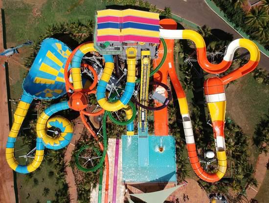 Complexo de toboáguas radicais é a nova atração do terceiro parque aquático mais visitado do mundo