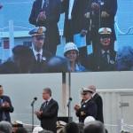 Cerimônia de entrega do MSC Bellissima