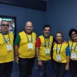 Daniel Gouvea com equipe de master de Porto Alegre
