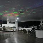 Deck Solarium arrumado para festa de despedida