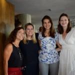 Denise Santiago, da Terra Mundi, Simone Berardo, da Assessorato, Clara Campos, da Minor Hotels, e Mariana Rago, da Assessorato