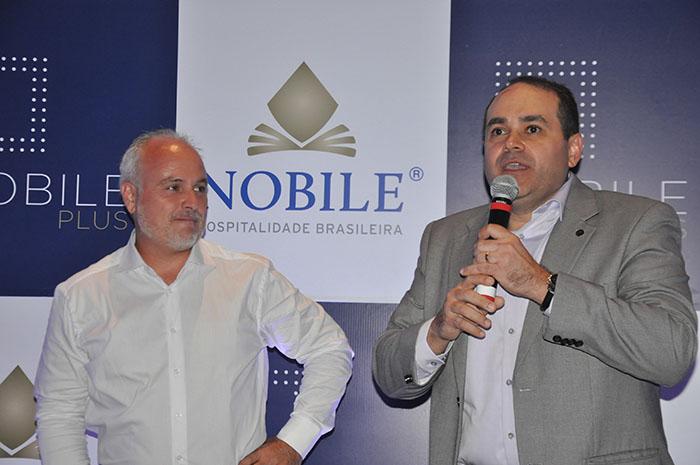Diego Filardi, diretor de Desenvolvimento da Nobile para América Latina, com Roberto Bertino, presidente do Grupo Nobile