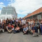 Discover Cruises convidou 55 agentes e operadores para conhecer o Royal Princess