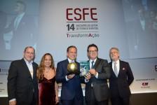 Profissionais do mercado M.I.C.E e lideranças empresariais são homenageados no Esfe