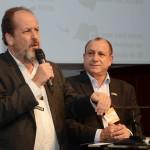 Eduardo Sanovicz, da Abear, e Toni Sando, do SPCVB