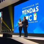Emerson Belan e Eduardo Bernardes, vice-presidente da GOL