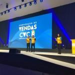 Emerson Belan e Fernando Fogaça durante a abertura