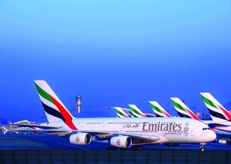 Emirates-A380-Fleet-Dubai-International-768x545