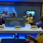 Experiência Virtual Durante a Convenção