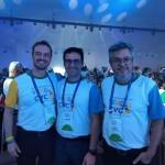 Flavio Cera, Rogério Mendes e Fábio Cardoso da VHC