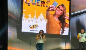 CVC encerra convenção com Giovana Antonelli e Claudia Leitte