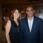 Gisele Abrahão, da GVA, e David Germain, da The Seychelles Islands