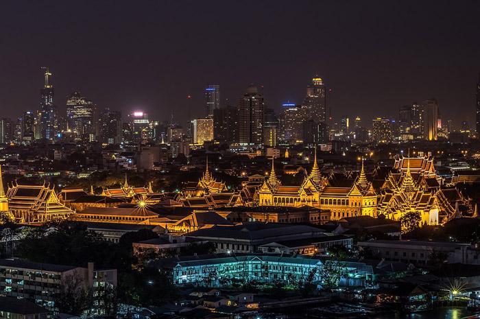 Grande Palácio, em Bangkok