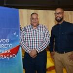 Hugo Clarinda e André Rojer, de Curaçao