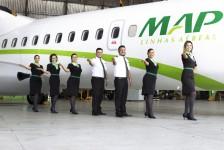 MAP Linhas Aéreas abre vagas para copilotos e comissários