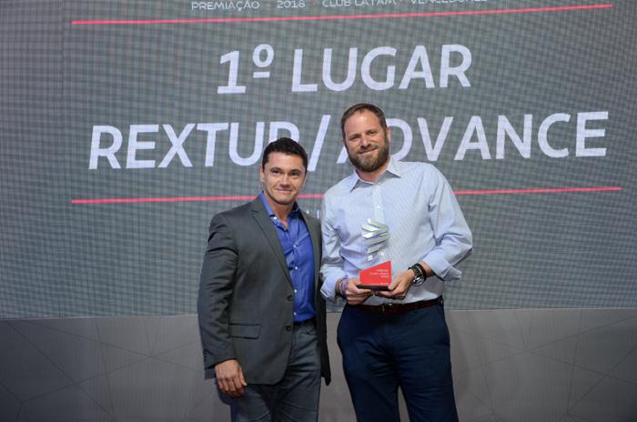 Igor Miranda, da Latam, e Luciano Guimarães, da RexturAdvance