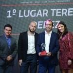Igor Miranda e Aricia Silva, da Latam, Rafael Souza e Thomas Peres, da Teresa Peres