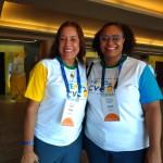 Ivone e Helen, gerentes de lojas da CVC em SP
