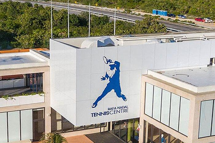 Primeiro Centro de Tênis Rafael nadal na Costa Mujeres