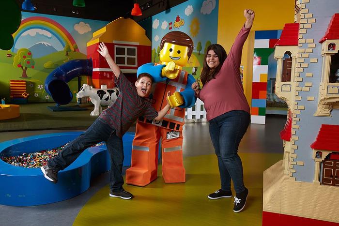 Legoland Discovery Center foi reaberto após passar por reformas