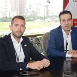 Luis Pereira, do Visit Portugal, e Renato Cunha, da Windsor Hotéis