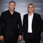 Luiz Eduardo Chebarria e Fernando Fernandes, da SLC Viagens