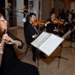 Convidados foram recepcionados com música