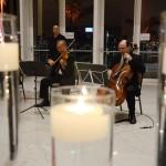 Música durante a recepção dos convidados