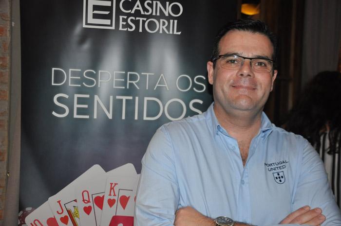 Nuno Sardinha, gerente de Vendas do Casino Estoril.