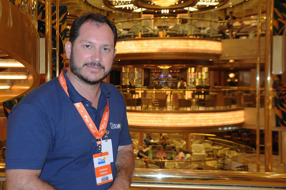 Pablo Zabala, diretor de Marketing e Vendas da Discover Cruises