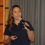 Patricia Lacerda apresentou os diferenciais da American Airlines