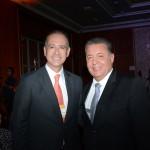 Régis Medeiros, do Fortaleza CVB, e Alexandre Sampaio, da FBHA