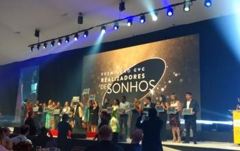 """CVC premia """"Realizadores de Sonhos"""" em jantar na Convenção 2019; fotos"""