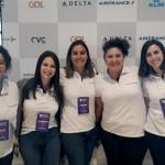 Renata Esteves e o time de Marketing da RexturAdvance