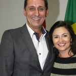 Rogerio Siqueira e Flavia Didomenico