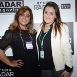 Rosangela Braga, do Grupo Radar, e Natalia Adan, da Rubens