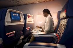 Delta oferecerá serviço de pré-seleção de refeições em mais de mil voos